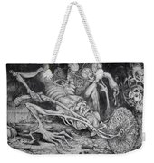 Selfpropelled Beastie Seeder Weekender Tote Bag