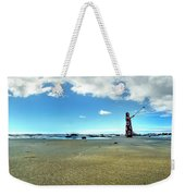 Selfy On The Beach Weekender Tote Bag
