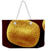 Sem Of Nasturtium Pollen Weekender Tote Bag