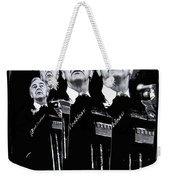 Senator Gene Mccarthy  Miami Beach Florida 1972 Collage Created In  2013 Weekender Tote Bag