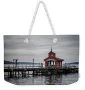 Seneca Lake Pier Weekender Tote Bag