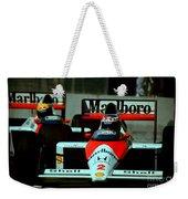 Senna Chasing Prost ... Weekender Tote Bag
