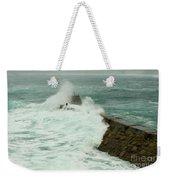 Sennen Cove Breakwater Weekender Tote Bag