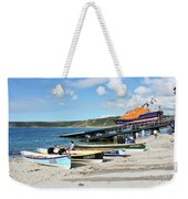 Sennen Cove Lifeboat And Pilot Gigs Weekender Tote Bag