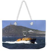 Sennen Cove Lifeboat Weekender Tote Bag