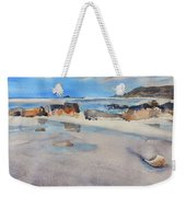 Sennen Cove Low Tide Weekender Tote Bag