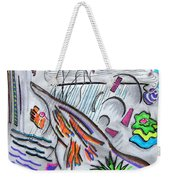 Sensing The Precipice Weekender Tote Bag