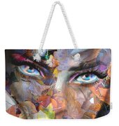 Sensual Eyes Autumn Weekender Tote Bag