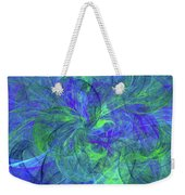 Sentimental Nature Abstract Weekender Tote Bag