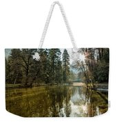 Sentinel Bridge And Half Dome In Morning Light Weekender Tote Bag