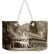 Sentinel Hotel And Ivy And River Cottages Circa 1895 Weekender Tote Bag