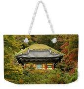 Seokguram Grotto Weekender Tote Bag