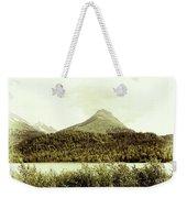 Sepia Alaska  Weekender Tote Bag