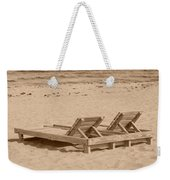 Sepia Chairs Weekender Tote Bag