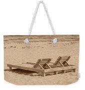 Sepia Chairs Weekender Tote Bag