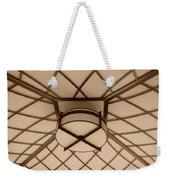 Sepia Lighted Box Weekender Tote Bag