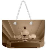 Sepia Lights Weekender Tote Bag