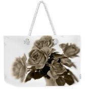 Sepia Roses Weekender Tote Bag
