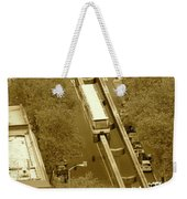Sepia Seattle Weekender Tote Bag
