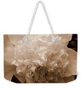 Sepia Series - Peony Weekender Tote Bag