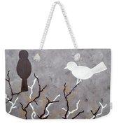 Sepia Simplicity Weekender Tote Bag