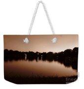 Sepia Sunset Weekender Tote Bag