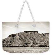 Sepia Tones Nature Landscape Nevada  Weekender Tote Bag