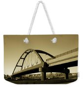 Sepia Treatment Weekender Tote Bag
