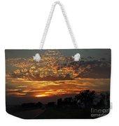 Sept Sunset Weekender Tote Bag