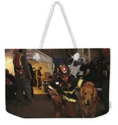 September 11th Rescue Workers Receive Weekender Tote Bag