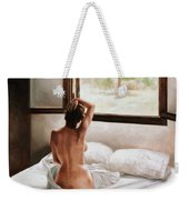 September Morning Weekender Tote Bag by John Worthington