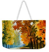 September Morning Weekender Tote Bag