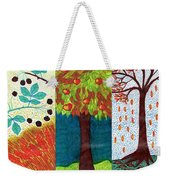 September October November Weekender Tote Bag