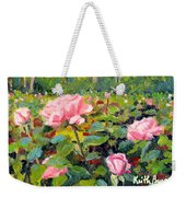 September Roses Weekender Tote Bag