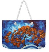 Serendipitous Original Madart Painting Weekender Tote Bag