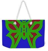Serendipity Butterflies Blueredgreen 6of15 Weekender Tote Bag