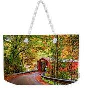 Serendipity Painted Weekender Tote Bag