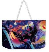 Serene Starry Night Weekender Tote Bag
