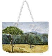 Serengeti Painting Weekender Tote Bag