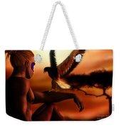 Serengeti Sunset Weekender Tote Bag