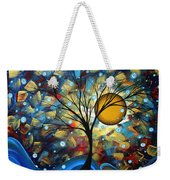 Serenity Falls By Madart Weekender Tote Bag by Megan Duncanson
