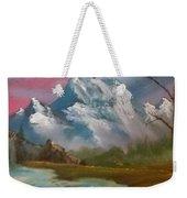 Serenity In Pastel Weekender Tote Bag