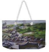 Serenity Of Waterside Weekender Tote Bag