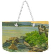 Serenity On The Hudson Weekender Tote Bag