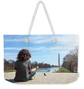 Serenity On The National Mall Weekender Tote Bag