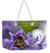 Serenity Prayer Weekender Tote Bag