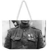 Sergeant York - World War I Portrait Weekender Tote Bag