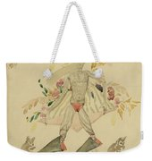 Sergei Vasilievich Chekhonin Russian 1878-1936 Character From An Eastern Fairytale Weekender Tote Bag