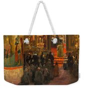 Sergey Dmitrievich Miloradovich Russian 1851-1943 Uspenskiy Cathedral, 1917 Weekender Tote Bag