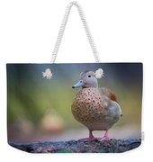 Seriously Cute Weekender Tote Bag by Cindy Lark Hartman